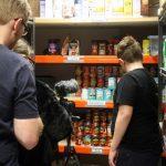 Foodbank filming
