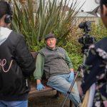 Interviewing the gardener