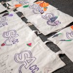 Caring Cooks tote bags